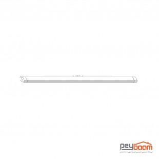چراغ خطی ال ای دی 40 وات پارس شعاع توس مدل سحاب طول 120 سانتی متر