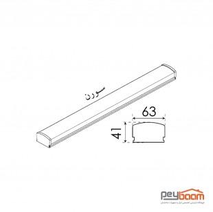 چراغ خطی ال ای دی 20 وات پارس شعاع توس مدل سورن طول 30 سانتی متر