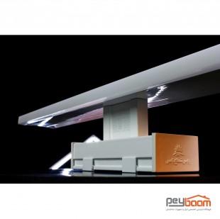 چراغ ال ای دی 17 وات بالا آینه پارس شعاع توس مدل دنا صدفی