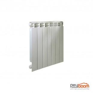 رادیاتور آلومینیومی 7 پره ایران رادیاتور مدل کال 500
