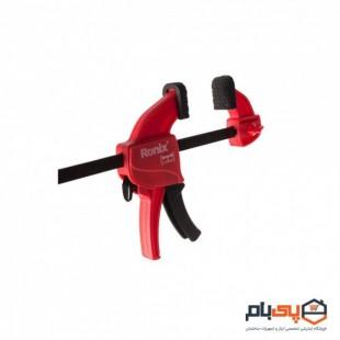 پیچ دستی فشاری 25 سانت رونیکس مدل RH-7504