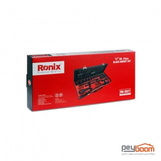 مجموعه 27 عددی آچار بکس رونیکس مدل RH-2627
