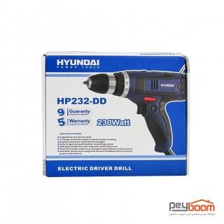 دریل پیچ گوشتی هیوندای مدل HP232-DD