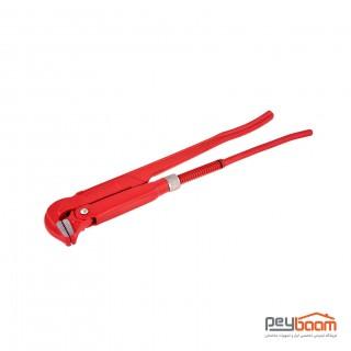 آچار دو دسته لوله گیر توسن مدل T222-1 سایز 1 اینچ