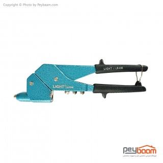 انبر پرچ دستی گردان لایت مدل LR-006