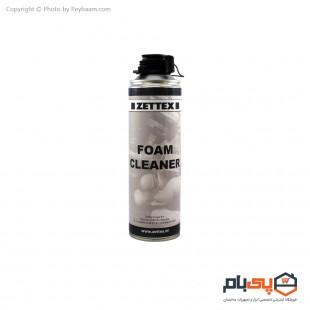 اسپری پاک کننده فوم زتکس حجم 500 میلی لیتر
