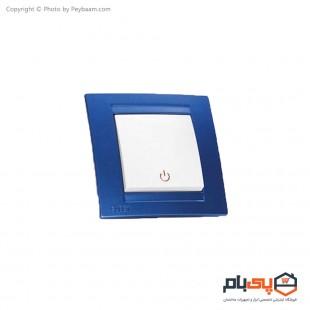 کلید تک پل ثابت الکتریک مدل پاور