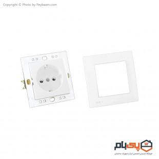 پریز برق ارت دار ثابت الکتریک مدل پاور بسته 10 عددی