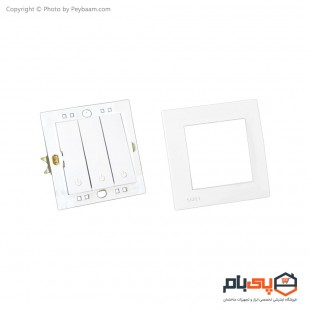 کلید سه پل ثابت الکتریک مدل پاور بسته 10 عددی