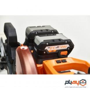 اره فارسی بر کشویی شارژی به همراه ست باتری و شارژر آ ا گ مدل BPS18-254BL