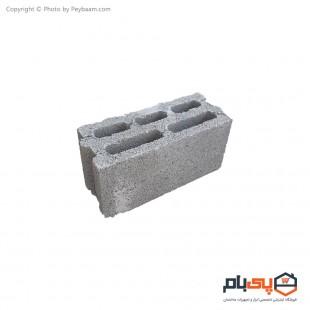 بلوک سبک دیواری تو خالی بهنام بتن عرض 15 سانتی متر