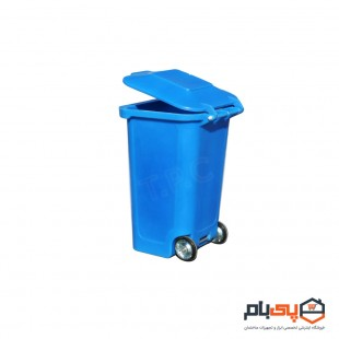 سطل زباله چرخدار طبرستان حجم 150 لیتر مدل 3216101