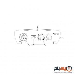 پکیج شوفاژ دیواری بوتان مدل perla pro 24 rsi