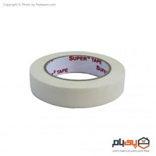 نوار چسب کاغذی Super Tape عرض 2 سانتی متر