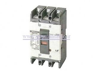 کلید اتوماتیک کامپکت (100-40) آمپر ، سه پل (400 ولت) غیر قابل تنظیم (فیکس) ، LS