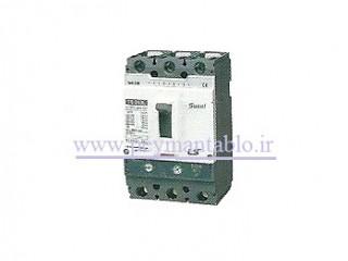 کلید اتوماتیک کامپکت (حرارتی) ، (160-125) آمپر ، سه پل (400 ولت) قابل تنظیم ، LS