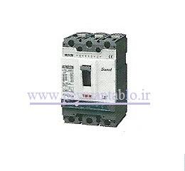 کلید اتوماتیک کامپکت (حرارتی) ، (100-16) آمپر ، سه پل (400 ولت) قابل تنظیم ، LS