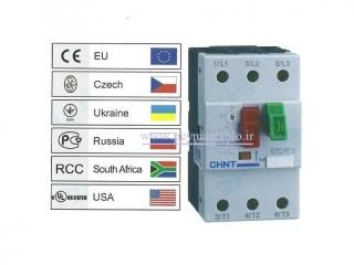 راه انداز موتور MMS (کلید حرارتی دستی) 40 تا 63 آمپر ، چینت