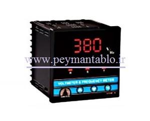 ولت متر همراه با کلید ولت و فرکانس متر باقابلیت کنترل ADONIS