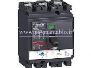 کلید اتوماتیک کامپکت 400 آمپر، سه پل (400ولت) قابل تنظیم Schneider electric