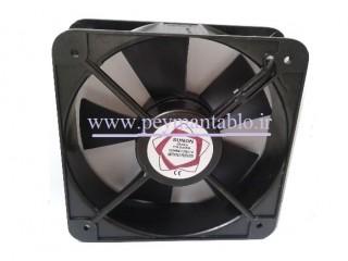 فن تابلویی  220 ولت AC به ابعاد (20*20) Sunon