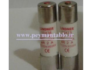 فیوز استوانه ای در آمپر های (32-25-16-10-6-4-2) LINDNER