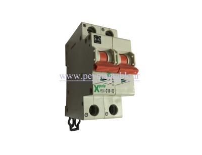کلید مینیاتوری جریان مستقیم (DC) دو پل در آمپرهای 2 و 4 آمپر F&G