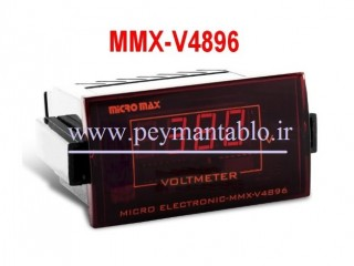 ولت متر تکی دیجیتال تک فاز Micro Max Electronic
