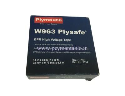نوار آپارات عرض 69KV 38mm (های ولتاژ) Plymouth W963