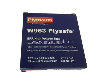 نوار آپارات عرض 69KV 19 mm (های ولتاژ)  Plymouth W963
