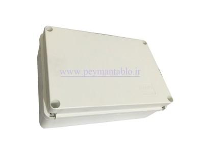 جعبه تقسیم برق (درب پیچ خور) پلاستیکی 12*31*21