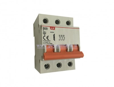 کلید مینیاتوری (mcb) سه پل / سه فاز 50 آمپر ، LS
