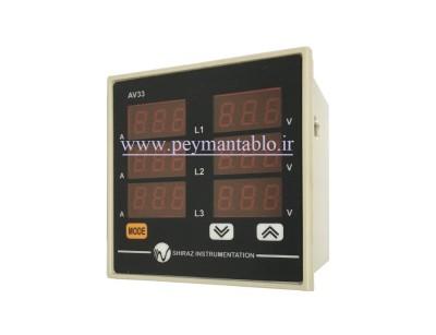 مولتی متر سه فاز (مجموعه) دیجیتال (C.P.I.G)