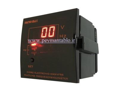 ولت متر تکی دیجیتال سه فاز Micro Max Electronic