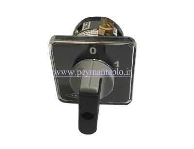 کلید سلکتور (گردان) دو فاز ، یکطرفه ، 16 آمپر ، TRS