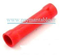 مف سایز کوچک با روکش پلاستیکی (قرمز )  نمره 1.5