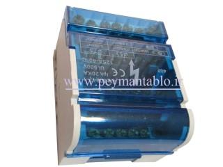 جعبه (باکس) باسبار سه فاز (سه فاز و نول) 7 پیچ RST