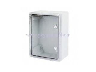 تابلوی پلاستیکی (ABS) درب شفاف (World-Plast (30*40*22