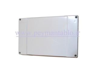 جعبه تقسیم برق (درب پیچ خور) پلاستیکی 12*30*20