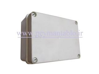 جعبه تقسیم برق (درب پیچ خور) پلاستیکی  10*17*22