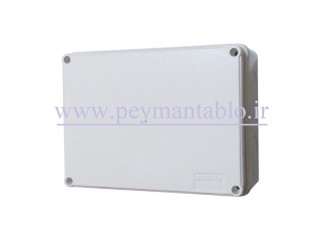جعبه تقسیم برق (درب پیچ خور) پلاستیکی 8*15*20