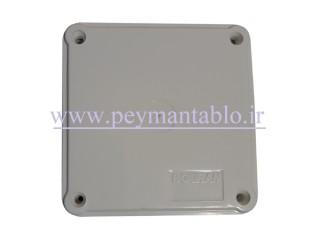 جعبه تقسیم برق (درب پیچ خور) پلاستیکی 6*10*10