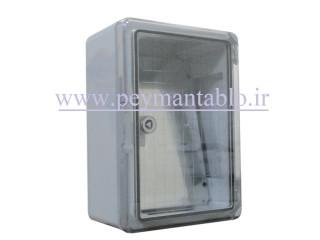 تابلو پلاستیکی (ABS) درب شفاف (15*35*25) با World-Plast IP65
