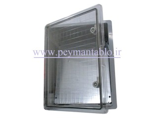 تابلو پلاستیکی (ABS) درب شفاف (22*50*40) با World-Plast IP65