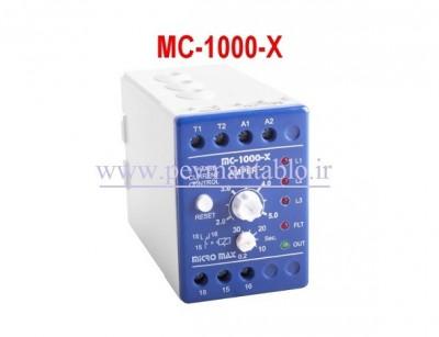 کنترل بار - رله اضافه جریان سه فاز Micro Max Electronic