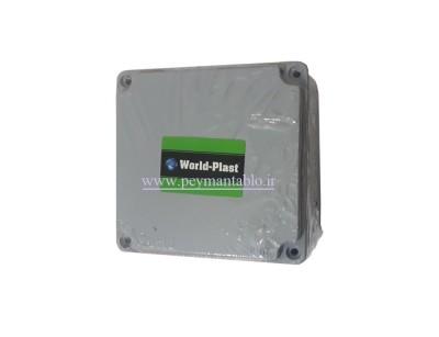 جعبه تقسیم آلومینیومی دایکاست 10*13*13 World-Plast
