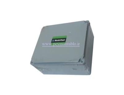 جعبه تقسیم آلومینیومی دایکاست 9 *19.5*17.5 World-Plast