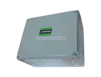جعبه تقسیم آلومینیومی دایکاست 14*26.5*21 World-Plast