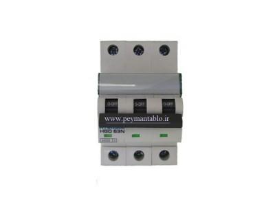 کلید مینیاتوری (mcb) سه پل / سه فاز 10 آمپر هیوندایی