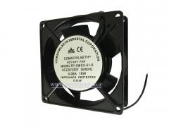فن تابلویی 220 ولت AC به ابعاد (9*9) (عرض 2.5)